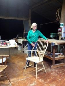Anne Burn's chair