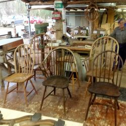 Chairs from Molong workshops