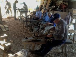 Shave horse derby